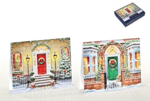 20 Tom Smith Luxury Christmas Cards Doors